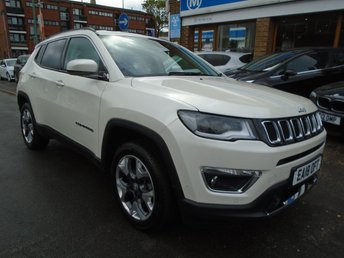 2018 JEEP COMPASS 1.4 MULTIAIR II LIMITED 5d 138 BHP £18794.00