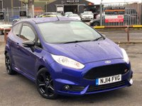 USED 2014 14 FORD FIESTA 1.6 ST-2 3d 180 BHP *DAB DIGITAL RADIO, BLUETOOTH PHONE, RECARO 1/2 LEATHER SEATS*