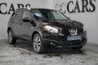 USED 2010 10 NISSAN QASHQAI+2 2.0 TEKNA PLUS 2 DCI 5d 148 BHP Black Full Leather Heated Seats + Contrast White Stitch, 7 Seats, Satellite Navigation + Bluetooth + DAB Radio + Speed Camera Warning + Reverse Camera, Panoramic Glass Roof, Heated Electric Powerfold Mirrors, Digital Dual Zone Climate Control, Leather Multi Function Steering Wheel, Cruise Control,