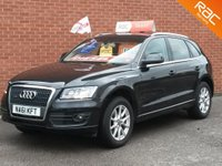 2011 AUDI Q5 2.0 TDI QUATTRO SE 168 BHP SAT NAV - FULL BLACK LEATHER  £10495.00
