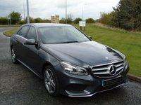 2014 MERCEDES-BENZ E CLASS 2.1 E220 CDI AMG SPORT 4d AUTO 168 BHP £14990.00