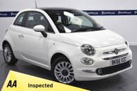 USED 2016 66 FIAT 500 1.2 LOUNGE 3d 70 BHP (PANORAMIC ROOF)