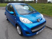 USED 2012 61 PEUGEOT 107 1.0 URBAN 3d 68 BHP ++LOW MILEAGE CAR COMES WITH A FREE 12 MONTHS AA BREAKDOWN COVER++