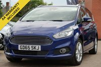 USED 2015 65 FORD S-MAX 2.0 TITANIUM TDCI 5d 148 BHP SATELLITE NAVIGATION + NATIONWIDE DELIVERY AVAILABLE