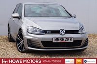 USED 2016 66 VOLKSWAGEN GOLF 2.0 GTD DSG 5d AUTO 182 BHP NAVIGATION ADAPTIVE CRUISE WITH FRONT ASSIST DAB BI-XENON XDS PLUS DIFFERENTIAL LOCK EURO 6 COMPLIANT !! ONE OWNER 18'' ALLOYS BLUETOOTH PHONE AND AUDIO