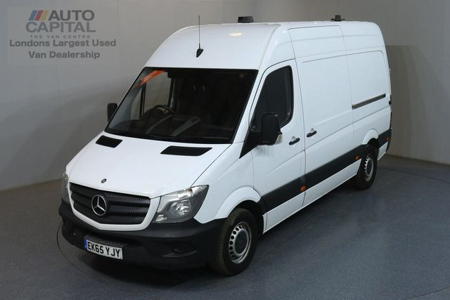 2015 65 MERCEDES-BENZ SPRINTER 2.1 313 CDI MWB 129 BHP  ONE OWNER, SERVICE HISTORY