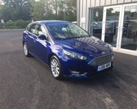 USED 2016 16 FORD FOCUS 1.0 TITANIUM NAVIGATOR AUTOMATIC 125 BHP THIS VEHICLE IS AT SITE 2 - TO VIEW CALL US ON 01903 323333
