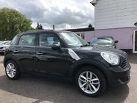 USED 2011 61 MINI COUNTRYMAN 1.6 D ONE 5d  LOW ROAD TAX, LOW INSURANCE GROUP NO DEPOSIT ECP/HP FINANCE ARRANGED, APPLY HERE NOW