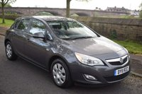 USED 2011 11 VAUXHALL ASTRA 1.4 EXCLUSIV 5d 98 BHP WELL MAINTAINED, 1 OWNER, RADIO CD PLAYER, AIR CONDITIONING, MANUAL GEARBOX, SPORTS SEATS..............