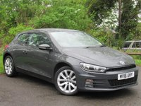 USED 2016 16 VOLKSWAGEN SCIROCCO 2.0 TDI BLUEMOTION TECHNOLOGY 2d  **128 POINT AA INSPECTION**
