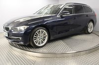 USED 2013 63 BMW 3 SERIES 2.0 320D LUXURY TOURING 5d 181 BHP
