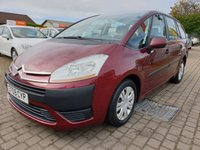 USED 2009 09 CITROEN C4 GRAND PICASSO 1.6 SX HDI 5d 110 BHP PLEASE CALL IF YOU CANT SEE WHAT YOU ARE AFTER . WE WILL CHECK OUR OTHER BRANCHES FOR YOU . WE HAVE OVER 100 CARS IN GROUP STOCK