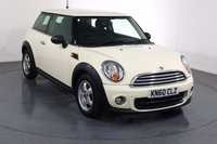 USED 2010 60 MINI HATCH ONE 1.6 ONE 3d 98 BHP BLUETOOTH I CLIMATE CTRL I FULL S/H