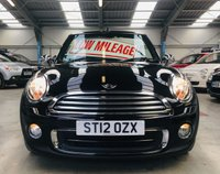 USED 2012 12 MINI CONVERTIBLE 1.6 ONE 2 DOOR CONVERTIBLE WITH LOW MILES AND FSH