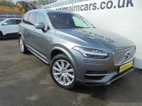 2016 VOLVO XC90 2.0 T8 TWIN ENGINE INSCRIPTION 5d AUTO 316 BHP £33995.00