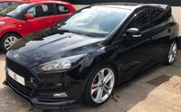 USED 2016 16 FORD FOCUS ST-2 2.0 5DR 245 BHP NAVIGATION, MOUNTUNE EXHAUST SYSTEM, RS SPOILER. STYLE PACK, REVERSE CAMERA & DOOR PROTECTORS