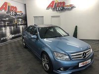 2010 MERCEDES-BENZ C CLASS 3.0 C350 CDI BLUEEFFICIENCY SPORT 4d AUTO 231 BHP £8250.00