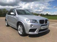2014 BMW X3 2.0 XDRIVE20D M SPORT 5d AUTO 181 BHP £15495.00