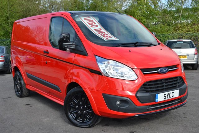 USED 2018 18 FORD TRANSIT CUSTOM 2.0 290 TREND H1 P/V COLOUR EDITION SIP 5d 168 BHP ONE OF ONLY 400 COLOUR EDITIONS MADE ~ FACTORY BODYKIT ~ ALLOYS ~ AIRCON