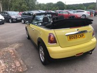 USED 2009 59 MINI CONVERTIBLE 1.6 COOPER 2d 120 BHP CABRIOLET CONVERTIBLE SOFT TOP ELECTRIC ROOF