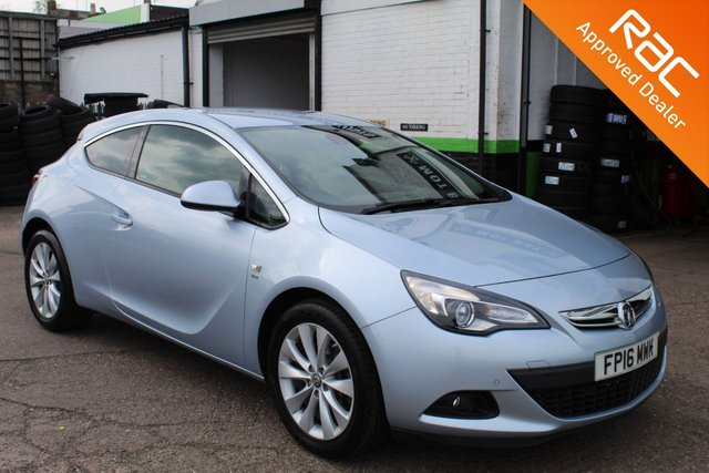 USED 2016 16 VAUXHALL ASTRA 1.4 GTC SRI 3d AUTO 138 BHP VIEW AND RESERVE ONLINE OR CALL 01527-853940 FOR MORE INFO.