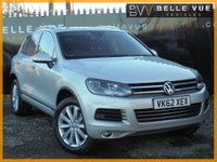USED 2012 62 VOLKSWAGEN TOUAREG 3.0 V6 SE TDI BLUEMOTION TECHNOLOGY 5d AUTO 242 BHP *STUNNING CONDITION, GREAT SPEC*