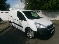 USED 2016 65 PEUGEOT PARTNER 750 L2 1.6 HDI 90 BHP CREW 5 SEATER**CHOOSE FROM OVER 85 VANS**