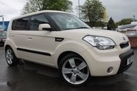 USED 2010 10 KIA SOUL 1.6 SHAKER CRDI 5d 127 BHP HUGE MPG - FULL SERVICE HISTORY - 6 STAMPS - JUST 2 OWNERS - LOW MILES