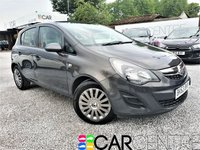 USED 2013 63 VAUXHALL CORSA 1.4 EXCLUSIV AC 5d AUTO 98 BHP 2 PREVIOUS OWNERS + SERVICE