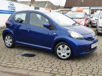 2007 TOYOTA AYGO 1.0 BLUE VVT-I 5d 68 BHP £2995.00