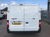 USED 2011 11 FORD TRANSIT T260 115PS 6 SPEED SWB 6 SEAT FACTORY CREW VAN