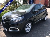 USED 2014 14 RENAULT CAPTUR 1.5 DYNAMIQUE MEDIANAV ENERGY DCI S/S 5d 90 BHP Free Road Tax, Great Economy