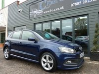 2013 VOLKSWAGEN POLO 1.2 R-LINE STYLE AC 5d 69 BHP