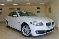 2015 BMW 5 SERIES 2.0 520D LUXURY 4d AUTO 188 BHP