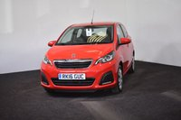 USED 2016 16 PEUGEOT 108 1.0 ACTIVE 5d AUTO 68 BHP AUTOMATIC + £0 TAX + HIGH MPG