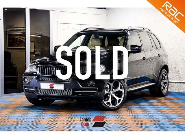 USED 2008 08 BMW X5 3.0 D SE 5d AUTO 232 BHP Four Owners   5-Stamp Service Record   Lovely Condition