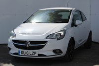 USED 2016 16 VAUXHALL CORSA 1.4 SRI ECOFLEX 3d 89 BHP VERY LOW MILEAGE, AIR CONDITIONING, BLUETOOTH, SPECIAL ORDER SUMMIT WHITE, BLACK ALLOYS