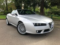 USED 2007 07 ALFA ROMEO SPIDER 2.2 JTS 2d 185 BHP 1 LADY OWNER FROM NEW