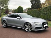 USED 2015 15 AUDI A7 3.0 TDI Black Edition Sportback S Tronic quattro 5dr MEGA SPEC+HEAD UP DISPLAY+FASH