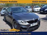 USED 2017 17 BMW M4 3.0 M4 COMPETITION PACKAGE 2d AUTO 444 BHP
