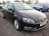 USED 2011 61 VOLKSWAGEN PASSAT 1.6 SE TDI BLUEMOTION TECHNOLOGY 4d 104 BHP 1 Owner - Full Vw history - Low mileage