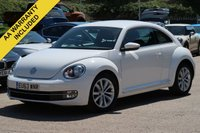 USED 2013 63 VOLKSWAGEN BEETLE 1.2 DESIGN TSI 3d 103 BHP FULL SERVICE HISTORY NATIONWIDE DELIVERY AVAILABLE