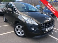 USED 2010 10 PEUGEOT 3008 1.6 SPORT HDI 5d AUTO 110 BHP AUTOMATIC + FULL MAIN DEALER SERVICE HISTORY