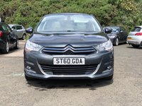 USED 2010 60 CITROEN C4 1.6 EXCLUSIVE 5d 118 BHP PANORAMIC ROOF *  HALF LEATHER *  18 INCH ALLOYS *  PARKING SENSORS *  FULL SERVICE RECORD *