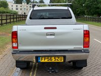 USED 2006 56 TOYOTA HI-LUX 2.5 INVINCIBLE SWB 4X4 DCP 1d 103 BHP