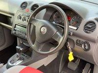 USED 2010 10 VOLKSWAGEN CADDY MAXI 1.9 LIFE TDI DSG 5d AUTO 103 BHP WHEELCHAIR ACCESS RAMP