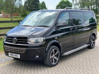 USED 2010 10 VOLKSWAGEN CARAVELLE 2.0 SE TDI 5d AUTO 177 BHP WHEELCHAIR ACCESS RAMP