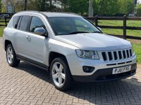 2012 JEEP COMPASS 2.1 CRD LIMITED 2WD 5d 134 BHP £6844.00