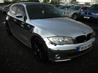 USED 2006 55 BMW 1 SERIES 2.0 118I SE 5d 128 BHP Chrome wrap - Recent service and mot