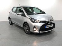 USED 2015 15 TOYOTA YARIS 1.3 VVT-I ICON 5d 99 BHP EXCELLENT FULL UPTO DATE S/HISTORY